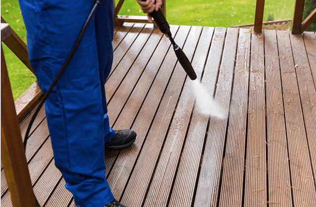 deck cleaning peoria