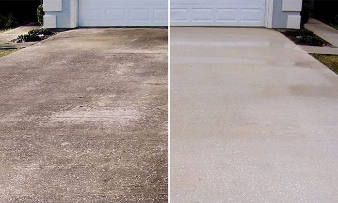 peoria driveway cleaning