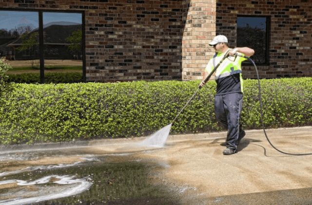 commercial concrete cleaning in peoria