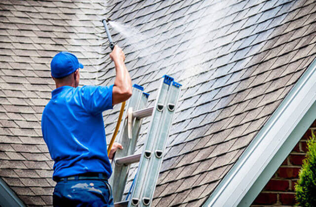peoria roof cleaning